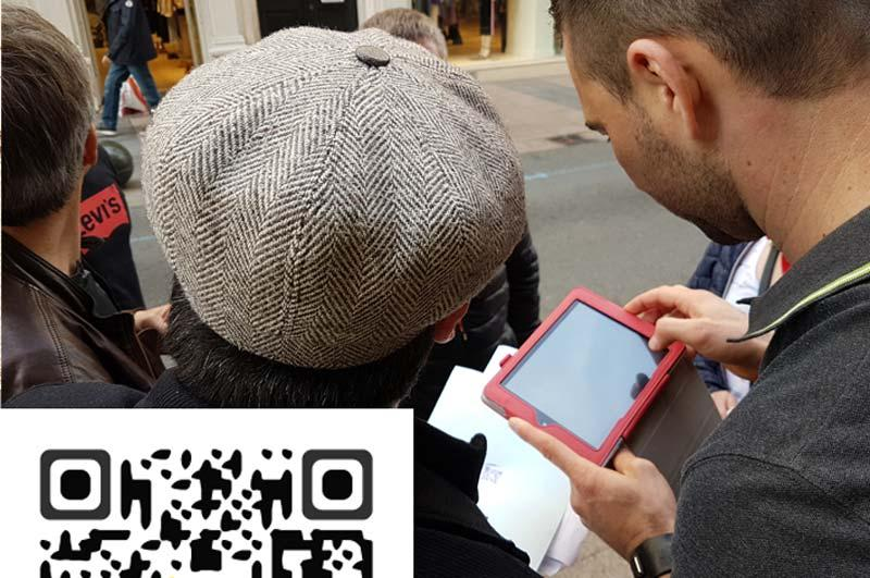 Team Building - <br>QR code la traque