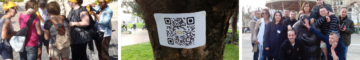 Team Building QR Code - découverte de la ville
